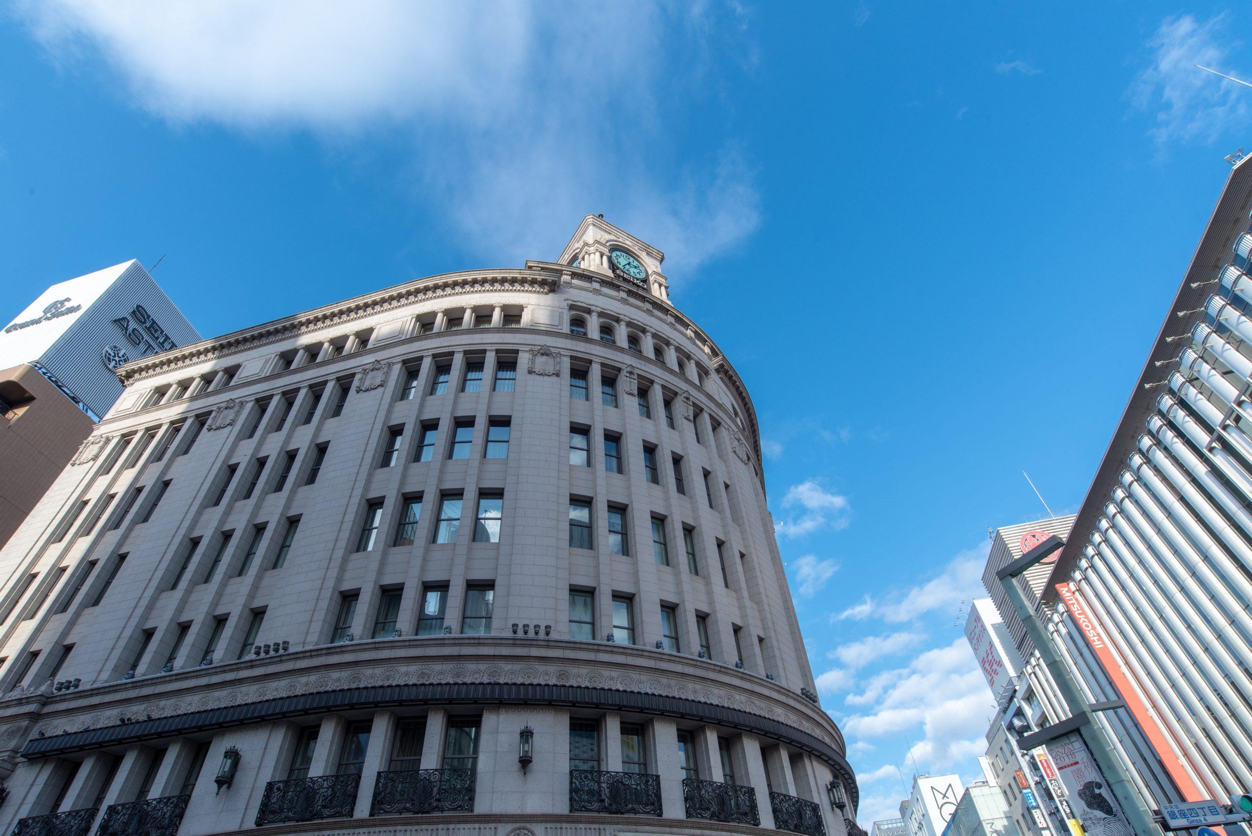 銀座四丁目界隈 東京都中央区