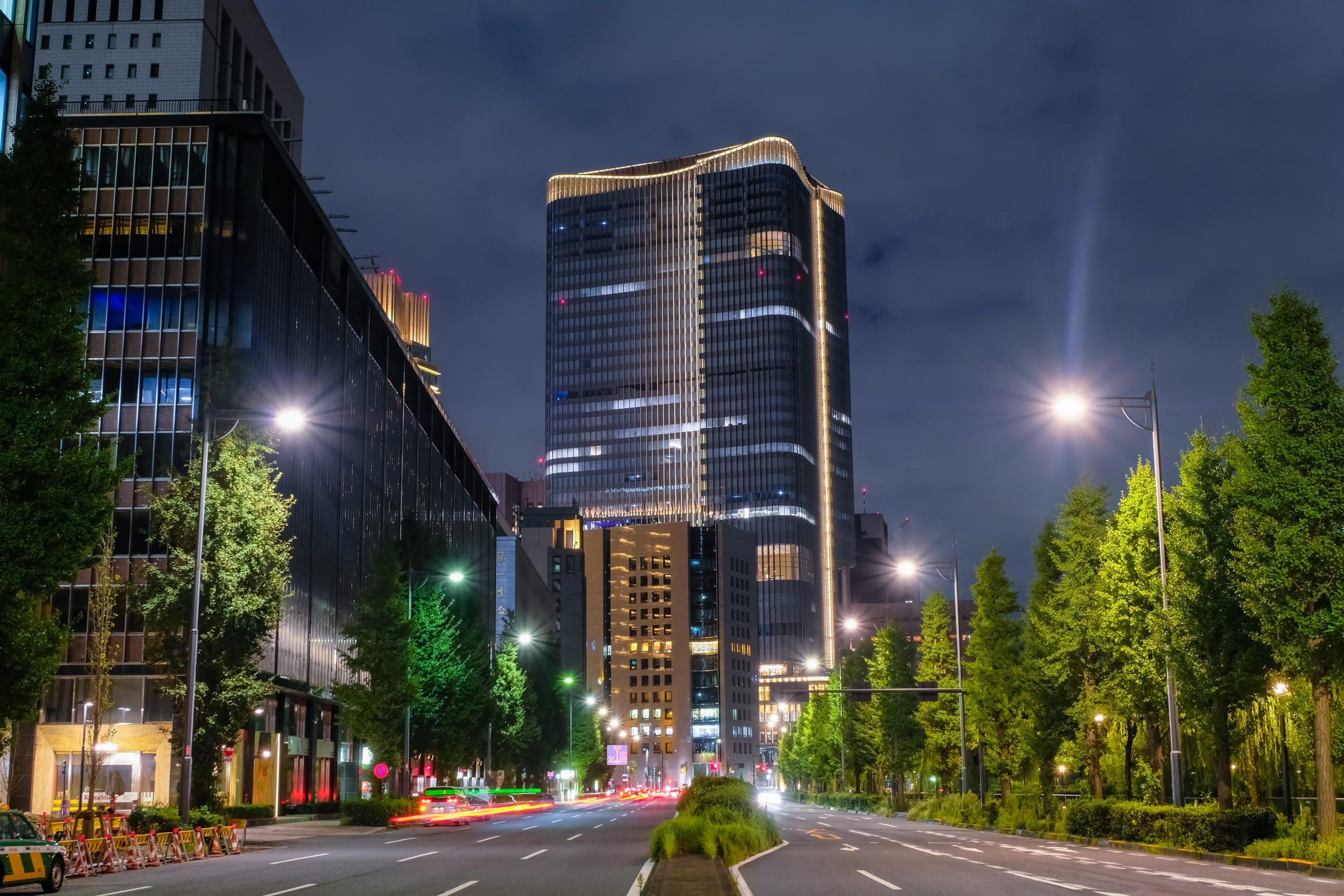 丸の内 東京ミッドタウン日比谷 夜景