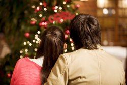 クリスマスのカップルイメージ